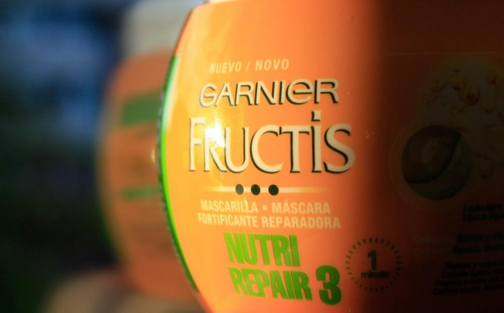 Mascarilla Fructis Nutri Repair de Garnier / Mask Garnier Fructis Nutri Repair
