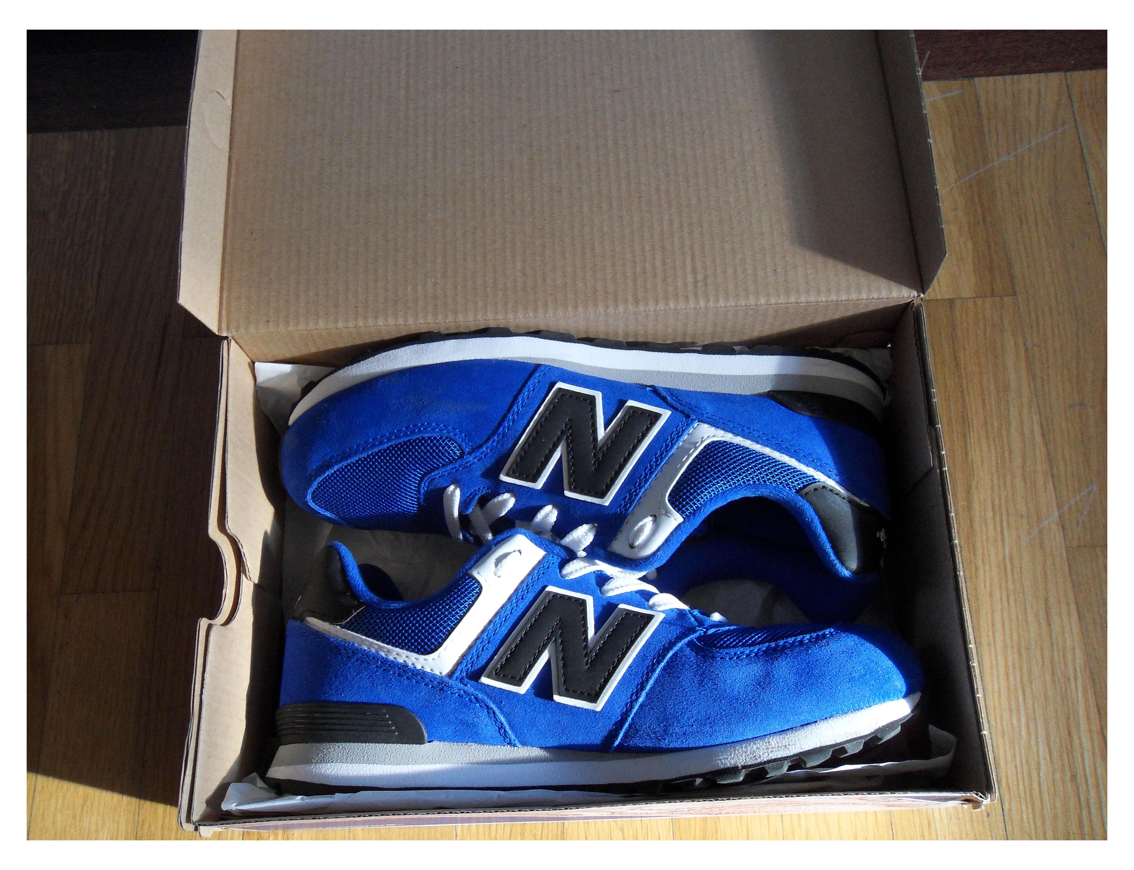 new balance azul electrico